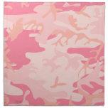 Pink Camo - Girly Camo Cloth Napkin