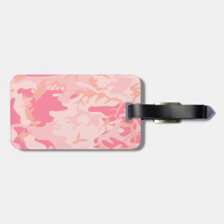 Pink Camo - Girly Camo Tag For Luggage