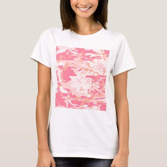 Pink Camo - Girly Camo T-Shirt