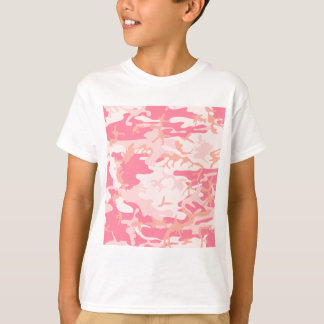 Pink Camo - Girly Camo T-Shirt