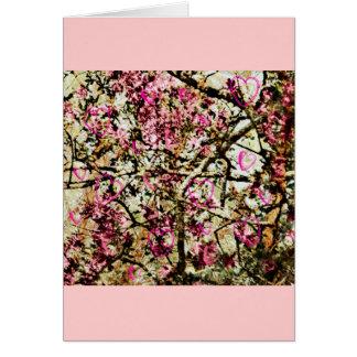 Pink Camo & Hearts Card