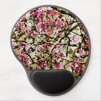 Pink Camo & Hearts Mousepad