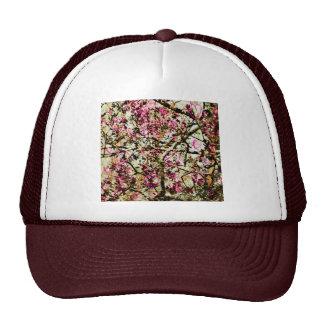 Pink Camo & Hearts Trucker Hat