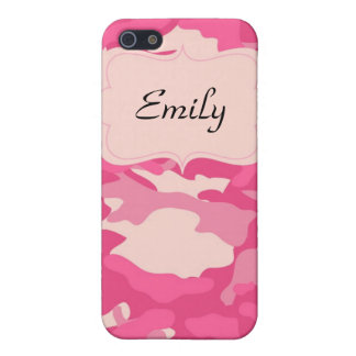 Pink Camo iPhone 4 Case