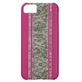 Pink & Camo iPhone 5 Case - Camo & Pink Stripes