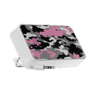 Pink Camo Laptop Speakers