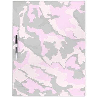 Pink Camo, Large Dry Erase Board