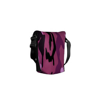 Pink Camo Messenger Bags