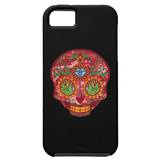 Pink Camo Mexican Day Of The Dead Sugar Skull iPhone SE/5/5s Case
