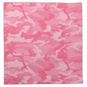Pink Camo Napkins
