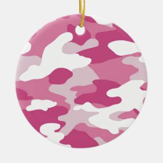 Pink Camo Christmas Tree Ornament