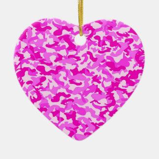 Pink Camo Ornaments