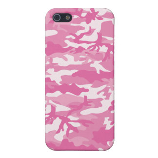 PINK-CAMO-PATTERN iPhone SE/5/5s COVER