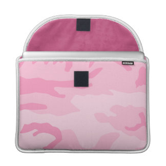 Pink Camo Pattern Sleeve For MacBook Pro