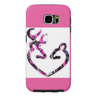 Pink Camo Phone Case for Galaxy s6