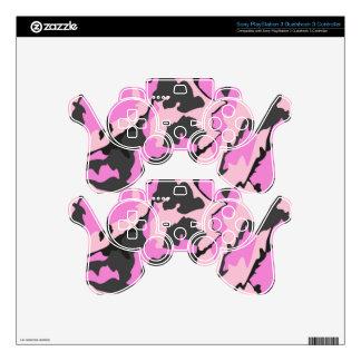 Pink Camo, PS3 Dualshock 3 Controller Skin PS3 Controller Skins