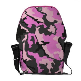 Pink Camo, Rickshaw Medium Zero Messenger Bag