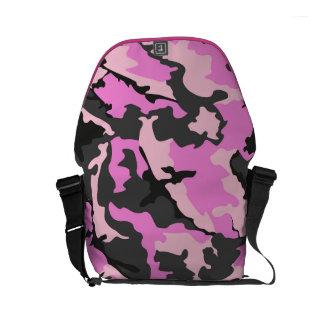 Pink Camo, Rickshaw Small Zero Messenger Bag