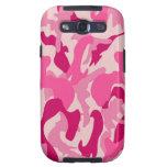 Pink camo Samsumg Galaxy S3 hülle cover Galaxy SIII Cárcasa