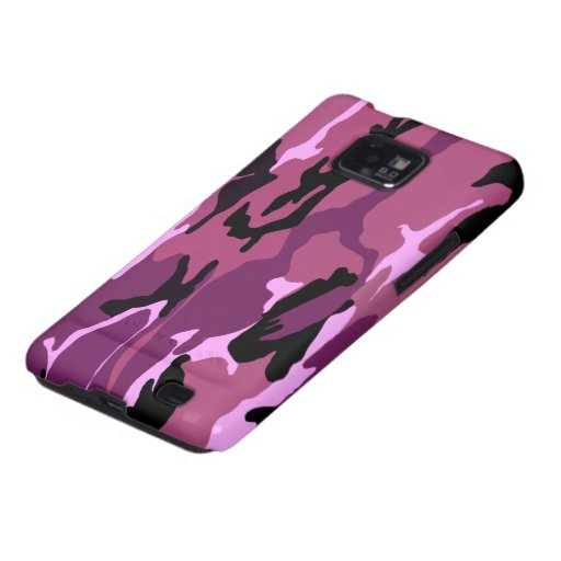 Pink Camo Samsung Galaxy SII Case