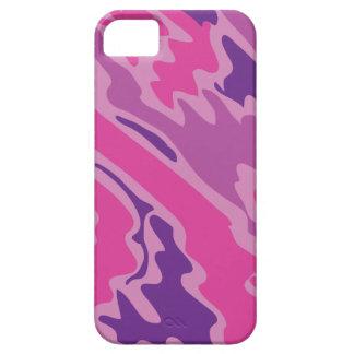 Pink Camo Texture Graphic iPhone SE/5/5s Case