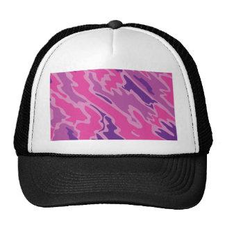Pink Camo Texture Graphic Trucker Hat
