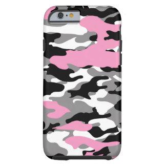 Pink Camo Tough iPhone 6 Case