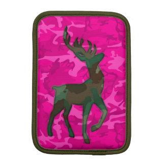 Pink Camo with Deer Sleeve For iPad Mini