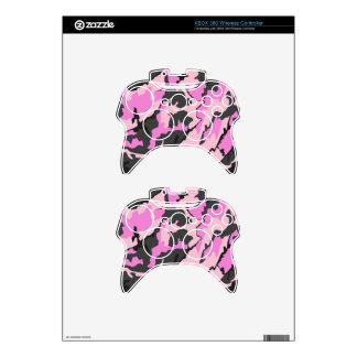 Pink Camo, XBOX 360 Wireless Controller Skins Xbox 360 Controller Decal