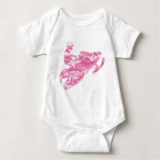 Pink Camoflage Snowmobiler Shirt