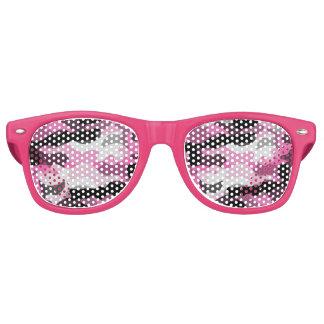 Pink Camoflauge Wayfarer Sunglasses