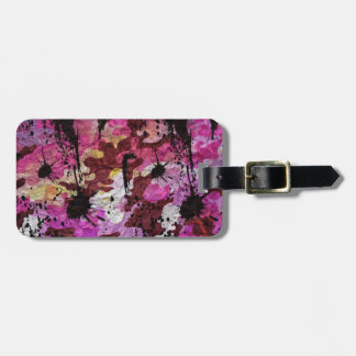Pink Camouflage Bag Tag
