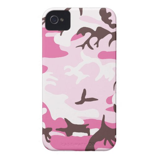 Pink Camouflage Barely There™ iPhone 4 Case