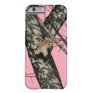Pink Camouflage Barely There iPhone 6 Case