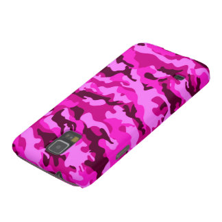 Pink camouflage case for galaxy s5