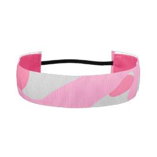 Pink Camouflage Elastic Headbands