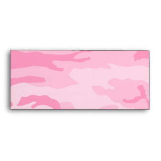 Pink Camouflage Envelopes