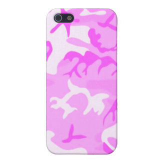 Pink Camouflage for 4/4S Cover For iPhone SE/5/5s