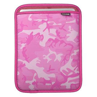 Pink camouflage iPad Sleeve
