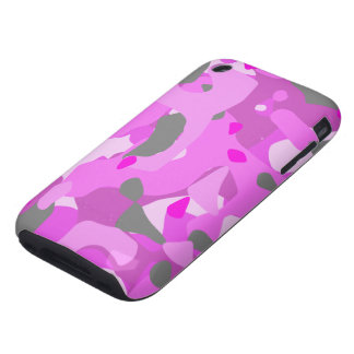 Pink Camouflage iPhone 3 Tough Cover