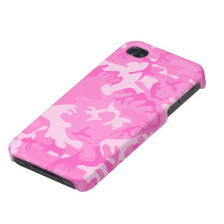 Pink camouflage iPhone 4 Case