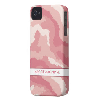 Pink Camouflage iPhone 4 Case-Mate Barely There™