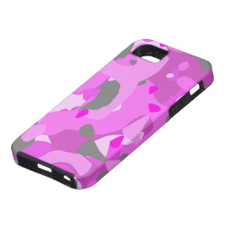 Pink Camouflage iPhone SE/5/5s Case