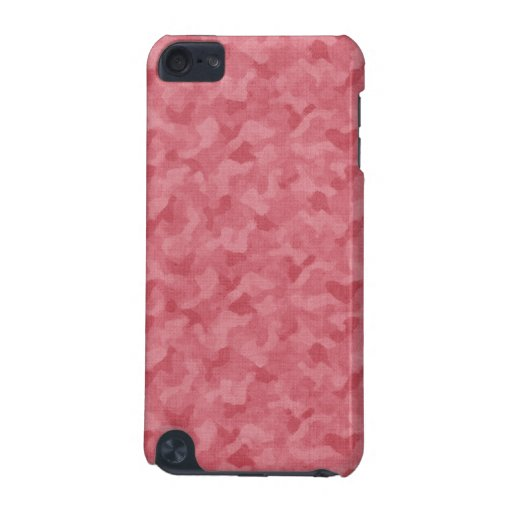 Pink camouflage IPod Touch Case camo