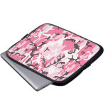 Pink Camouflage Laptop Sleeve