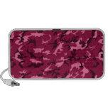 Pink Camouflage Laptop Speaker