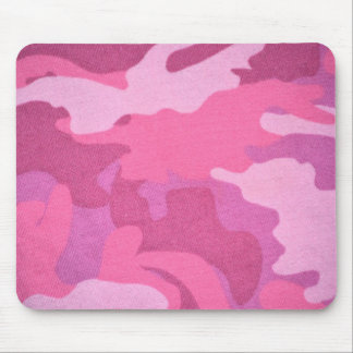 Pink Camouflage Military Pattern Peace Destiny Mousepads