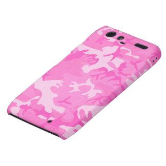 Pink camouflage Motorola Razr Case