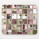 Pink Camouflage MultiColor Mousepad