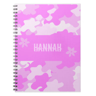 Pink Camouflage Notebook